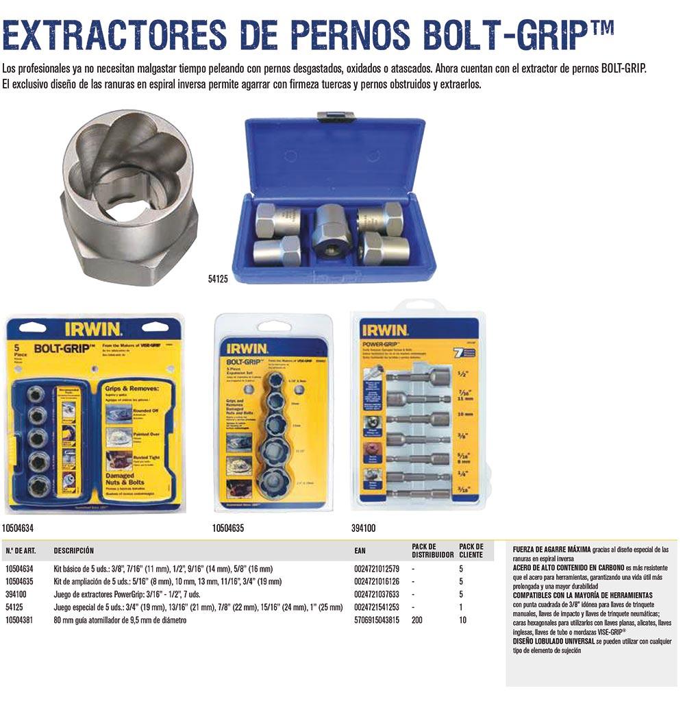 extractores de pernos